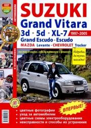 SUZUKI Grand Vitara, Grand Escudo (1997-2005) бензин, MAZDA Levante, CHEVROLET Tracker