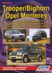 ISUZU Trooper/Bighorn, OPEL Monterey (1991-2002) бензин/дизель