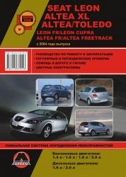 SEAT Leon/Toledo/Altea/XL с 2004 г. (бензин/дизель)