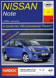 NISSAN Note с 2005 г. выпуска (бензин/дизель)