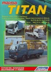MAZDA Titan. Модели 1989-2000 гг. выпуска. (дизель)