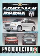 CHRYSLER Voyager/Grand Vayager/Town & Country, DODGE Caravan/Grand Caravan с 2007 г. (бензин/дизель)