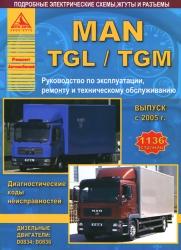 MAN TGL/TGM с 2005 г. выпуска (дизель)
