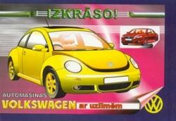 Automašīnas VW ar uzlīmēm