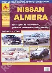 NISSAN Almera с 2000 г. (бензин)