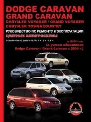 DODGE Caravan/Grand Caravan/CHRYSLER Voyager с 2001 г. (бензин) Grand Voyadger/Town & Country