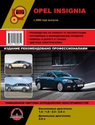 OPEL Insignia с 2008 г. (бензин/дизель)