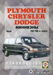 CHRYSLER, PLYMOUTH, DODGE (1983-1996) бензин. Минивэны