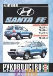 HYUNDAI Santa Fe с 2000 г. (бензин/дизель)