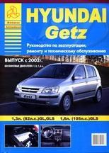 HYUNDAI Getz с 2002 (бензиновые двигатели 1,3