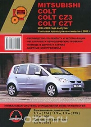 MITSUBISHI Colt, Colt CZ3, Colt CZT (2004-2008) бензин/дизель