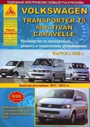 VOLKSWAGEN Transporter T5 с 2009 г. (дизель) Multivan, Caravelle (рестайлинг 2011/2012 гг.)