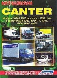 MITSUBISHI Canter. Модели 2WD & 4WD c 1993 г.